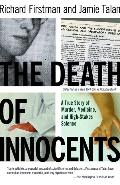 Book Cover for Death of Innocents. For Milton Glaser's class